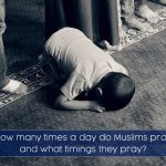 How many times a day do Muslims pray and what timings they pray? - 5 times a day - Fajr, Dhuhr, 'Asr, Maghrib, 'Isha