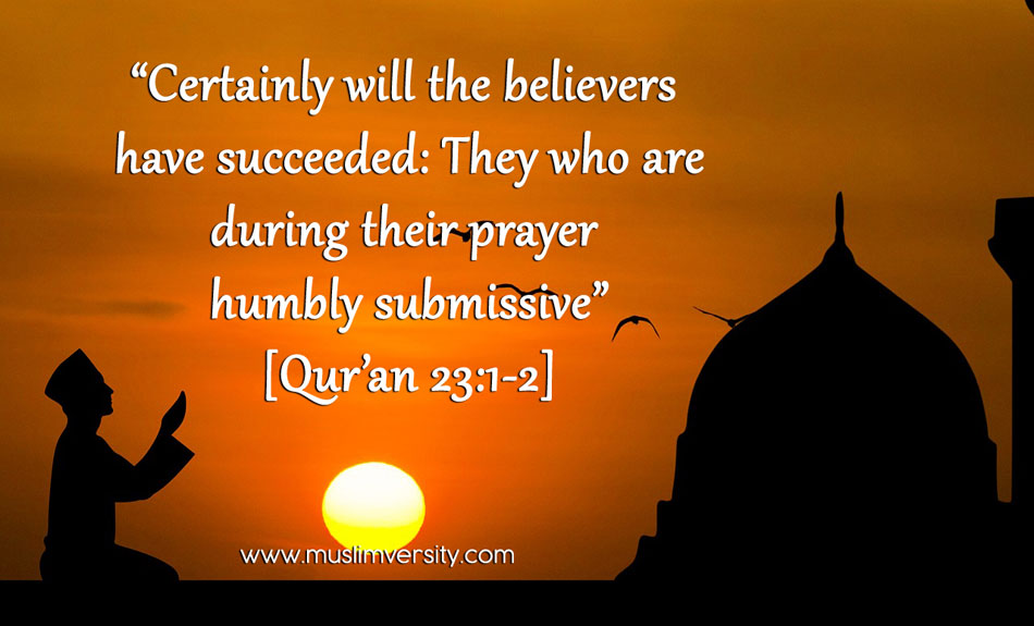 Why do Muslims pray 5 times a day?