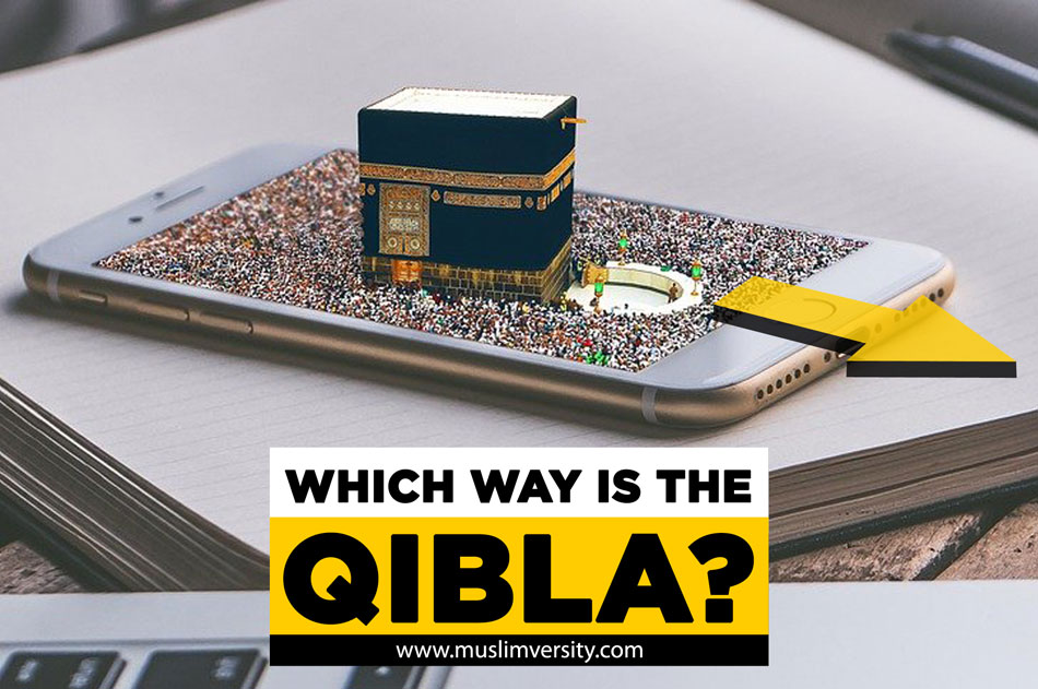 How do you Pray if you don't know the Qibla?